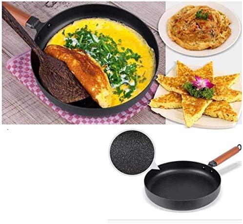 Fonte Skillet Grande Poêle avec poignée de maintien Cuisine Friteuse Xping