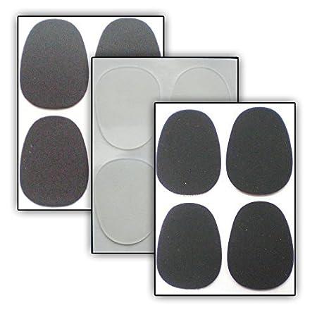 8 Compensadores para Boquillas - Soundman® Mouthpiece Cushions/Patches (Negro - Flaco (0, 40 mm)) Biss_BL04