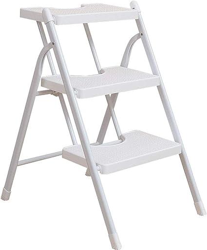 Zichen Escalera de tijera Escalera de mano plegable Escalera de ...