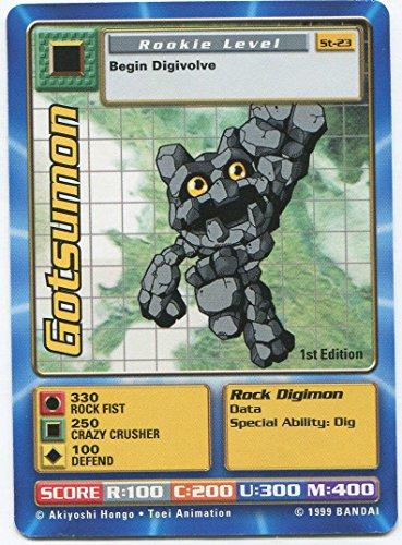 Digimon Card - Gotsumon St-23 - 1st Edition