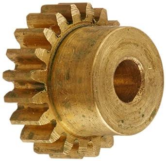 Boston Gear Y32112 Spur Gear, Brass, Inch, 32 Pitch
