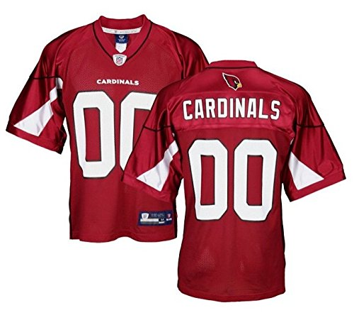 Arizona Cardinals NFL Mens Team Replica Jersey, Red (X-Large, Red) ()