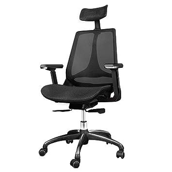 D Maille Chaise Bureau Rotatif En Inclinable Accoudoir Anuey De SMVpqUz
