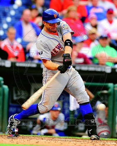 David Wright 2012 Action Art Poster PRINT Unknown 8x10