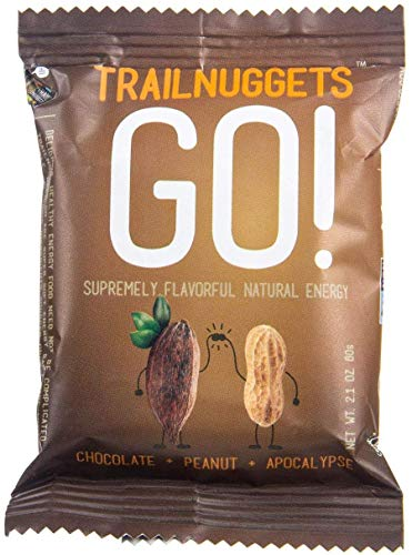 Trailnuggets Go! Energy and Endurance Bar, Coco Apocalypse, 1 Ct