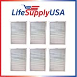 6 Filters – 2 Complete Sets – Air Purifier Set of Filters to fit ALL Blueair 500 and 600 Series ; By LifeSupplyUSA Review