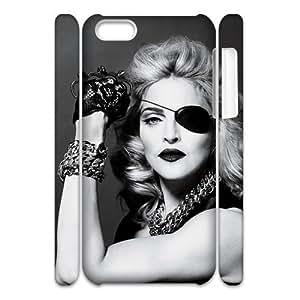 Newest Diy Madonna Ciccone Apple Iphone 5C 3D Cover Case UN835674