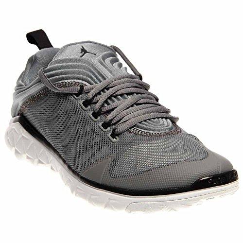 Nike Jordan Men's Jordan Flight Flex Trainer Cool Grey/Black/Pr Pltnm/Wht Training Shoe 13 Men US by Jordan