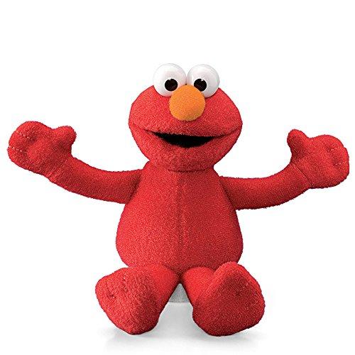 Sesame Street Elmo Plush Beanbag Character 6 Inch ()