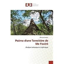Poème d'une Termitière de Me Pacéré: Analyse isotopique et stylistique