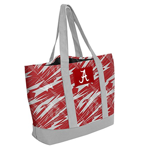 NCAA Alabama Crimson Tide Women's Shatter Tote Bag, 17 x 13.5, Multicolor by Forever Collectibles