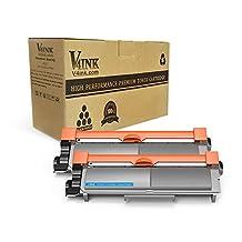 V4INK 2 Pack Compatible TN660 TN630 Toner Cartridge For Brother MFC-L2700DW HL-L2340DW L2360DW L2300D L2720DW L2740DW L2380DW L2500D DCP-L2520DW L2540DW Printer Series