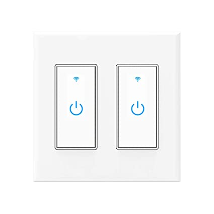 Pleasant Smart Switch Wifi Wall Light Switch Compatible With Alexa Google Wiring Cloud Hisonuggs Outletorg