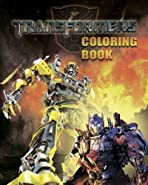 Transformers: Coloring Book for Kids, Activity Book, 25 Pages for Coloring