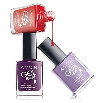 Amazon Com Avon Gel Finish 7 In 1 Nail Enamel Envy Nail Polish Beauty