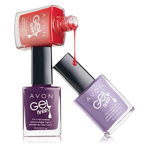 - Avon Gel Finish 7-in-1 Nail Enamel (Envy)