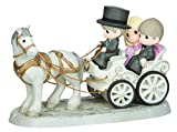 Precious Moments, Together Wherever We Go, Bisque Porcelain Deluxe Sculpture, 143014