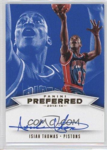 Basketball NBA 2013-14 Preferred NBA Pride Blue #474 Isiah Thomas Auto /15 Pistons by card