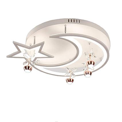 Taiyang Moderno Diseño Simple Estrellas Luna Metal Acrílico ...