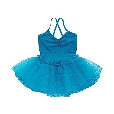 9050fa7eb Amazon.com  FEITONG Girls Ballet Dress Tutu Leotard Dance Gymnastics ...