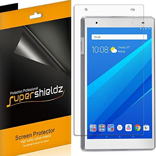 [3-Pack] Supershieldz High Definition Clear Shield for Lenovo (Tab 4 8 Plus) + Lifetime Replacement