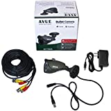 AVUE 700TVL Sony 960H CCD mini bullet camera KIT, IP66 Weather proof, 3.6mm, IR Smart, metal case, DC12V.