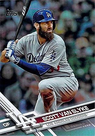 8d532097624 Baseball MLB 2017 Topps Rainbow Foil  337 Scott Van Slyke NM-MT Dodgers