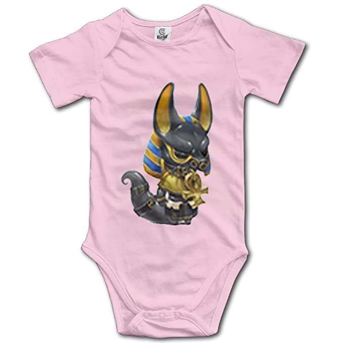 Rainbowhug Art Anubis Egypt Unisex Baby Onesie Cute Newborn Clothes Unique Baby Outfits Comfortable Baby Clothes
