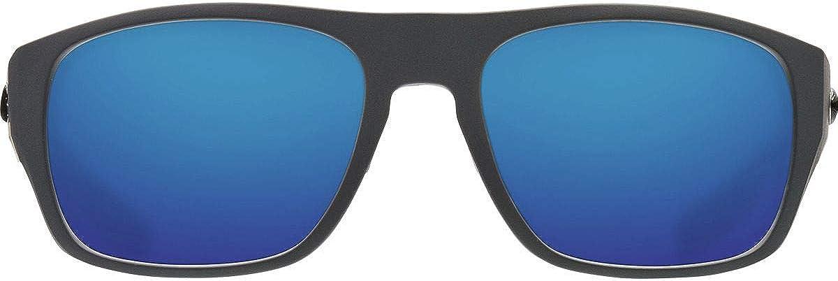 Costa Del Mar Tico Sunglasses Matte Gray//Blue Mirror 580Plastic