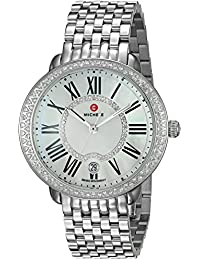 Women's 'Serein' Swiss Quartz Stainless Steel Casual Watch, Color Silver-Toned (Model: MWW21B000030)
