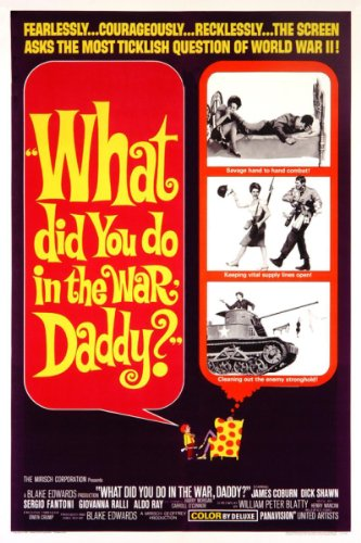 Price comparison product image What Did You Do In The War Daddy