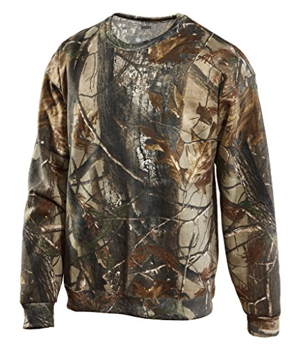 - WearDgo Licensed Realtree AP Crewneck Sweatshirt-LG