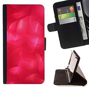 Beautiful Red Pink Pattern - Modelo colorido cuero de la carpeta del tirón del caso cubierta piel Holster Funda protecció Para Apple (4.7 inches!!!) iPhone 6 / 6S