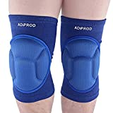 Knee Pads , ADiPROD (1Pair) Thick Sponge Collision Avoidance Kneeling Kneepad Outdoor Climbing Sports Riding Protector Protection (Blue)