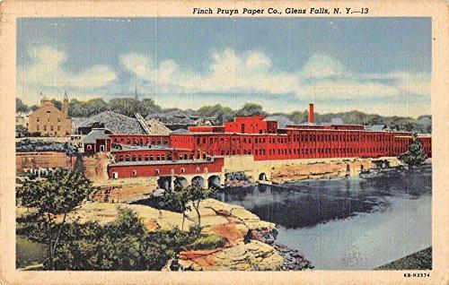 Glen Falls New York Finch Pruyn Paper Co Antique Postcard J25389