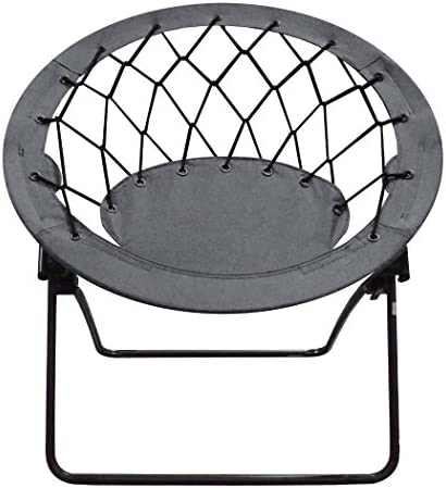 Impact Canopy 460060013-VC Web Folding Bungee Chair, Gray