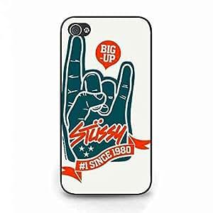 Big Up Stussy Logo Iphone 4 Case,Stussy Logo Phone Case Cover For Iphone 4