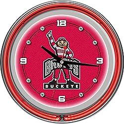 The Ohio State University Neon Clock