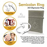 Sattaj LIFE Semicolon Ring, 925 Sterling