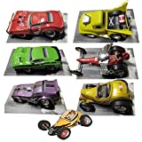 ''Classic'' Assortment - 7 Models - HOT ROD Magazine's 60th Anniversary Edition Monster Rides Collectibles
