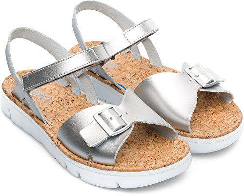 Camper Oruga K200631-002 Chaussures Plates Femme Gris cCQ4kLBH