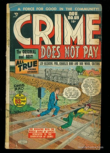 Crime Does Not Pay #69 GD+ 2.5
