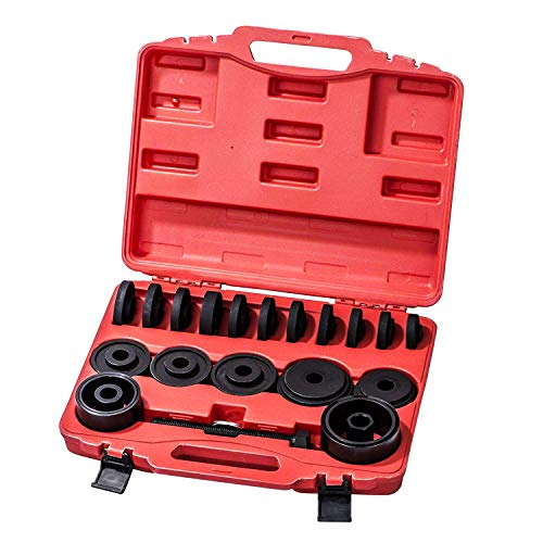 HFS R 23PC FWD Front Wheel Drive Bearing Removal Adapter Puller Pulley Tool Kit W/Case