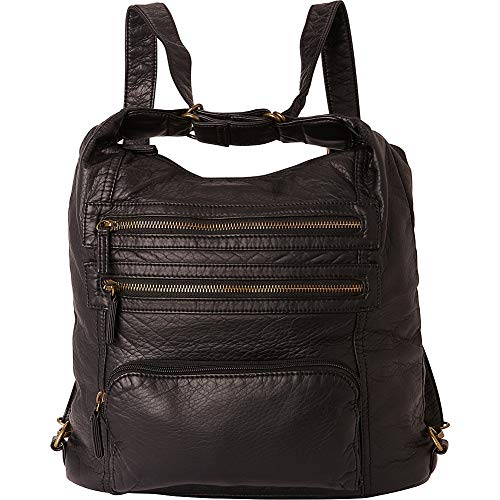 Ampere Creations The Lisa Convertible Backpack (Black) ()