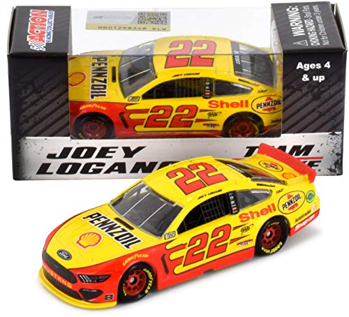 Lionel Racing Joey Logano #22 Shell 2019 Ford Mustang NASCAR Diecast 1:64 Scale