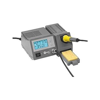 Fixpoint EP5 - Estación de soldadura digital Kit del Soldador Con pantalla LCD 51098