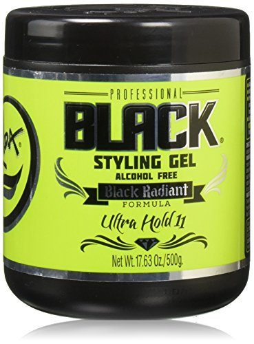 Rolda Styling Gel Ultra Strong Hold Alcohol Free Black 500g Unisex - Hair Color Styling Gel