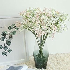 Artificial Gypsophila Floral Flower Fake Silk Wedding Party Bouquet Home Decor 5