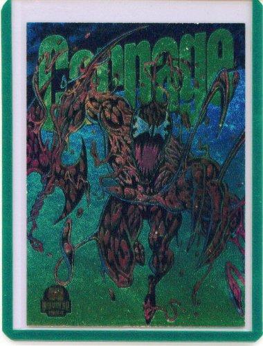 - 1994 Marvel Universe Power Blast Carnage Insert Card #1 of 9