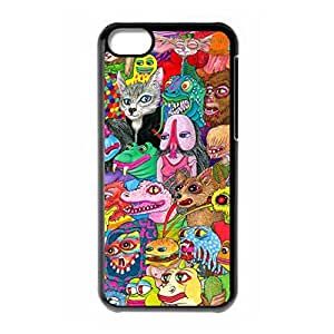 Mysterious Fantasy Trippy logo for iPhone 5C back case by runtopwell
